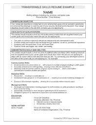 Job Qualification List Resume Examples Qualifications Examples Qualifications