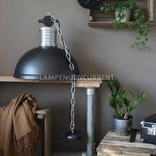 Industriële Hanglamp Brooklyn ø 50 Cm Zwart