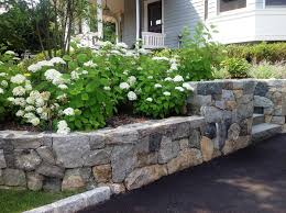 Small Picture Unique Stone Retaining Wall Ideas
