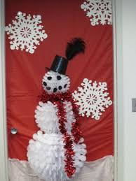 Snowman Door Decorations