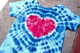<b>DIY</b> Tie-Dye <b>Heart</b> Shirt - The Crafty Chica