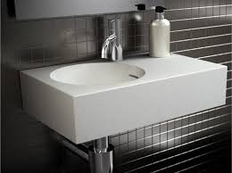 With it's superior quality the Omvivo Neo Mini Wall Basin provides a  perfect powder room solution