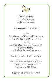 Ordination Invitation Template Pastor Ordination Service Invitations Cakepins Com