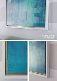 framed canvas painting best 25 canvas frame ideas on diy canvas frame frame