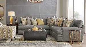 gray living room set. gray living room set e