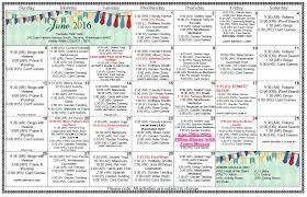 cascade park vista activities calendar june