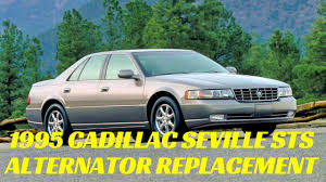 Cadillac Seville 4.6 Alternator Replacement Northstar SLS STS ...