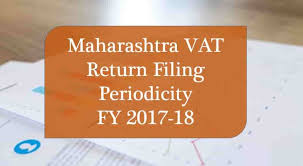 Vat Chart For Fy 2017 18 Maharashtra Vat Return Filing Periodicity Fy 2017 18