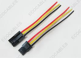 custom 3 pin jst tyco molex terminal electrical wire harness custom 3 pin jst tyco molex terminal electrical wire harness copper conductor