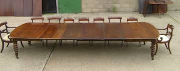 thin wood large dining room table seats 16
