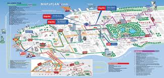 maps update  tourist map new york city of and attractions