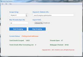 Online Email Extractor Fast Email Address Collector Krish Puri