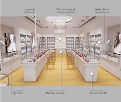 Customized Floor Plan Layout Decoration Jewellery Shops Interior Best Jewelry Store Interior Design Plans