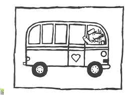 Coloriage Bus Enfant Les Beaux Dessins De Transport Imprimer