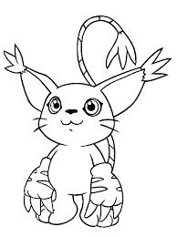 Small Picture Fancy Digimon Coloring Pages 45 In Free Coloring Book with Digimon
