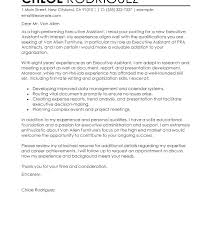 Cover Letter Administrative Assistant No Experience Best Cover ...