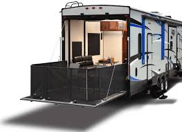 toy haulers are the perfect rv for those wanting to travel with atvs motorcycles and other gear while still providing extra living e