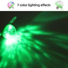 <b>Aimkeeg</b> RGB <b>Mini</b> USB <b>LED</b> Party <b>Lights</b> Portable Sound Control ...