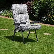 glendale deluxe garden recliner in