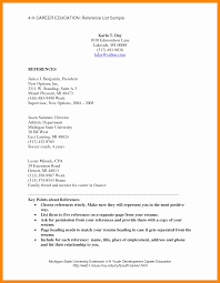 Professional Reference List Professional References List Template Business Plan Template 10