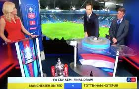 For many years the fa cup draw was televised from what appeared to be someone's living room, the teams being drawn out of a velvet bag by old, bald, silent men. Bt Sport Presenter Lynsey Hipgrave Apologises For Fa Cup Draw Gaffe Live On Tv After Claiming Manchester United Would Face Chelsea Mirror Online
