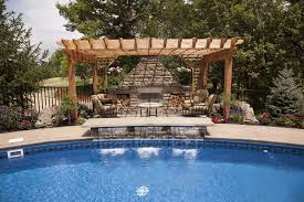 ... Outdoor Kitchen Designs With Pool Outdoor Living Photos Houston  Victoria Outdoor Kitchens Patio Cover