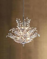 9 light crystal chandelier upside down light crystal chandelier with regard to popular household lighting crystal