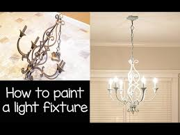 how to paint a chandelier light fixture with annie sloan chalk paint and wax