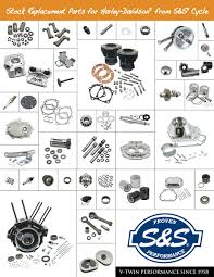 s s unveils stock replacement parts catalog hot bike