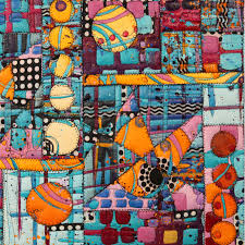Paint & Stitch: Vibrant Acrylic Quilts - iquilt.com & Instructor Gallery Adamdwight.com
