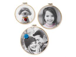 embroidery hoop picture frames diy picture frames