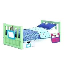 American Girl Doll Camp Bunk Bed Set Bow Bedding Inch – inovatec