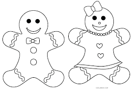 Man Coloring Page Gingerbread Man Coloring Pages Gingerbread Man