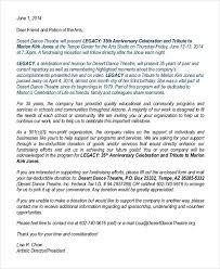 Format Of A Sponsorship Letter Beauteous Sponsorship Letter For Non Profit Non Profit Donation Request