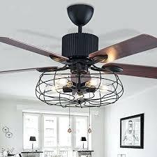 details about industrial retro ceiling fan light elegant 5 lights bulb living room edison menards