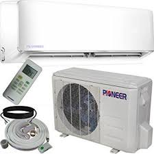 air conditioning options. the pioneer air conditioner ductless wall mount mini-split system ($900 plus installation) conditioning options t