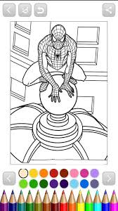 Coloring amazing spiderman colouring pages, colouring pages for kids, coloring pages bun sophat. Spiderman Coloring For Android Apk Download