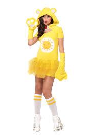tween care bears funshine bear costume