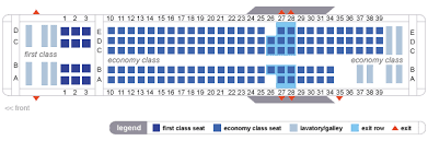 Delta Airlines Aircraft Seating Chart Delta Airlines Md90 Md 90 Seating Map Aircraft Chart