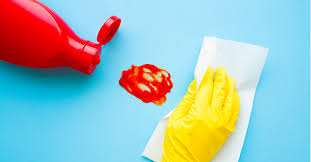 removing stains from your home walls