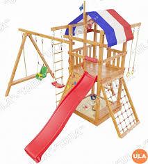 Деревянная <b>детская игровая площадка</b> Тасмания <b>Самсон</b>
