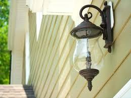 image of traditional outdoor lighting fixtures