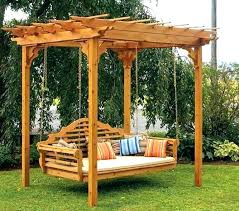 swing outdoor bed outdoor bed swing outdoor bed swing image of porch swing bed plans pole