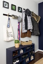 diy wall coat rack project a simple