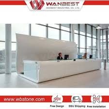 Front Office Designs Mesmerizing Artificial Stone Food Wooden Cash Counter Design Hotel Front Desk