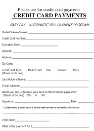 credit card form templates formats examples in word excel credit card form sample