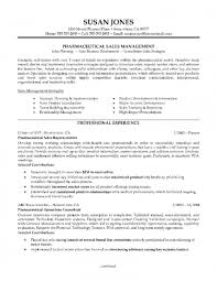 Pharmaceutical Sales Manager Resume Examples Resumes And Cover ...