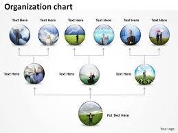 Business Diagram Organization Chart Round Diagram