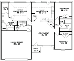 3 Bedroom Open Floor House Plans Ideas Awesome Inspiration Design
