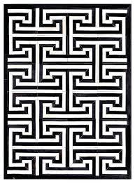 modern geometric rugs black cream modern geometric cowhide rug modern area rugs by the elite home modern geometric rugs